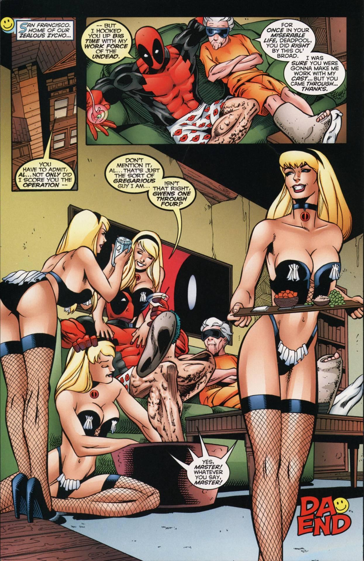 Marvel сиськи  смешные картинки и другие приколы комиксы