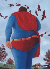 """Fly away, Superman. Fly free."""
