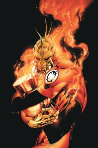 Larfleeze with Battery