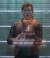 Star-Lord Gesture