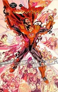 Superboy Prime Red Lantern