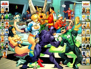 JLA JSA Thanksgiving