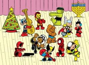 Christmas Marvel Peanuts