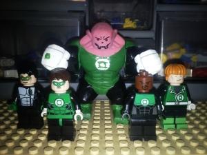 Lego Green Lantern Corps