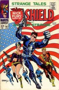 Patriotic Nick Fury