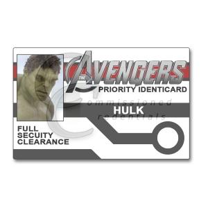 Hulk Avengers ID