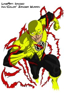 yellow_lantern_reverse_flash_by_zanderyurami-d3f2cxy