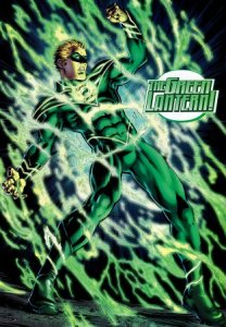 Yes, occasionally Green Lanterns sneeze, and no, it's not pretty...
