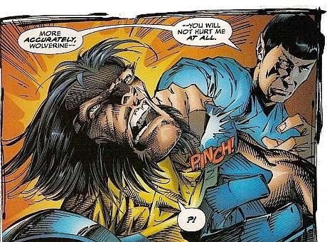 Wolverine Star Trek