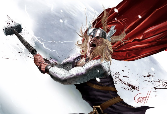 The Mighty Thor Greg Horn