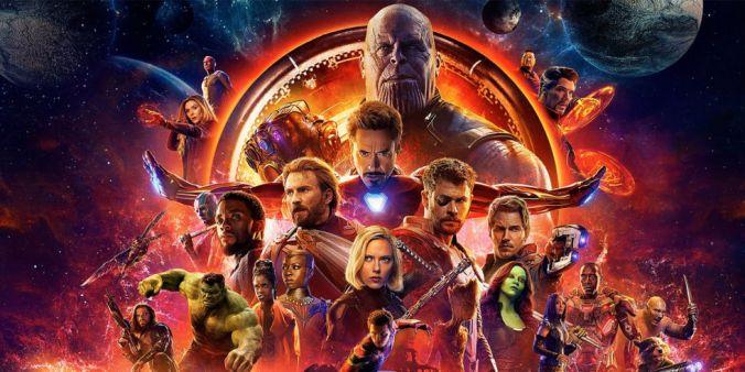 Avengers Infinity War masthead
