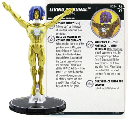 Living Tribunal with Card