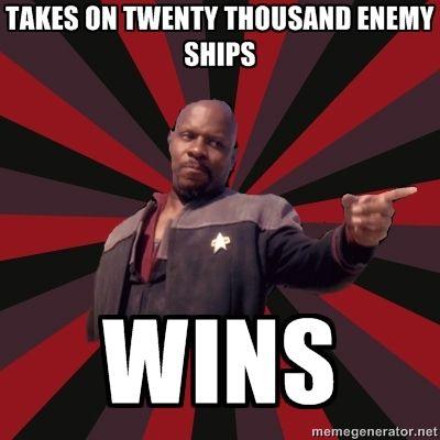 Sisko wins