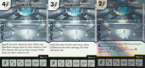 Danger Room Dice Masters