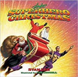 Superhero Christmas Stan Lee style