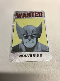 Wolvie Wanted poster